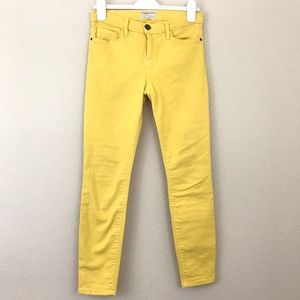 Current Elliot 29 The Stiletto Jean Yellow Ankle